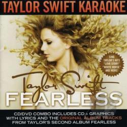 Taylor Swift Karaoke on Karaoke   Taylor Swift  Fearless Karaoke Cd Cover Art