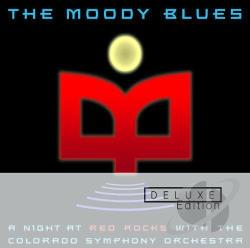 Moody Blues - Night At Red Rocks With The Colorado Symphony Orchestra: Deluxe Edition. CD Cover Art