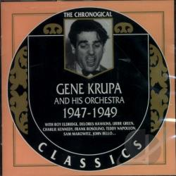 Krupa, Gene - 1947-1949 CD Cover Art