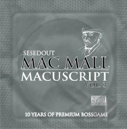Mac Mall - Macuscripts, Vol. 3 CD Cover Art