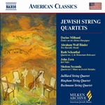 Jewish String Quartets CD Cover Art