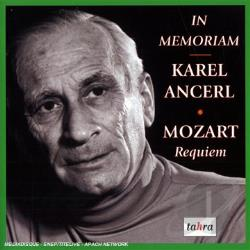 Ancerl, Karel - In Memoriam Karel Ancerl: Requiem CD Cover Art