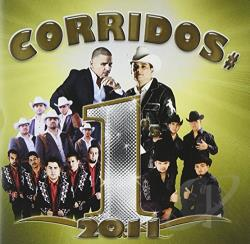 Corridos #1's 2011 CD Cover Art