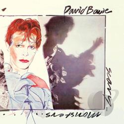 Bowie, David - Scary Monsters CD Cover Art