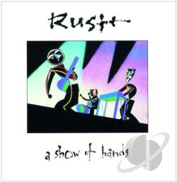 Rush - Show of Hands CD Cover Art