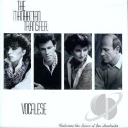 Manhattan Transfer - Vocalese CD Cover Art