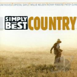 Simply The Best: Country CD Cover Art
