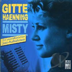 Haenning, Gitte - Misty CD Cover Art