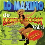Banda Boom - Lo Maximo De Banda Boom Vol. 4 CD Cover Art