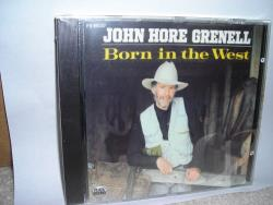 Grenell, John - Born in the West CD Cover Art