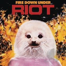 Riot - Fire Down Under CD Cover Art