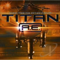 Titan A.E. CD Cover Art