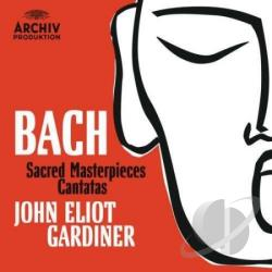 Gardiner, John Eliot - Bach: Sacred Masterpieces and Cantatas CD Cover Art