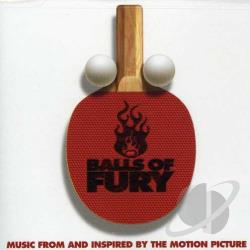 Edelman, Randy - Balls of Fury CD Cover Art