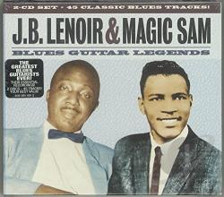Lenoir, J.B. - Blues Guitar Legends CD Cover Art