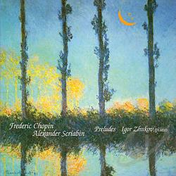 Chopin / Scriabin - Preludes CD Cover Art