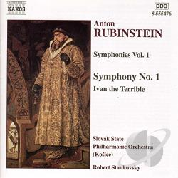 Rubinstein / Stankovsky - Rubinstein: Symphonies, Vol. 1 CD Cover Art