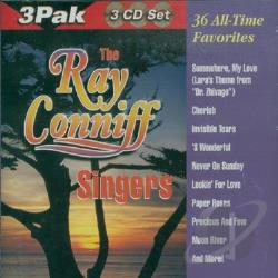 Ray Conniff Singers - Thirty Six All Time Greatest CD Cover Art