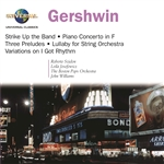 Josefowicz - Gershwin: Piano Concerto, etc / Szidon, Josefowicz, Williams CD Cover Art