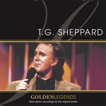 Sheppard, T.G. - Golden Legends: T.G. Sheppard CD Cover Art