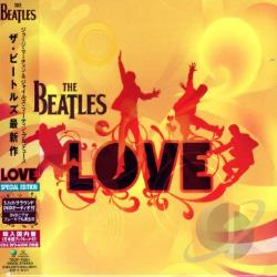 Beatles / Cirque Du Soleil - Love CD Cover Art