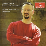 Schenkman, Byron - Haydn, F.J.: Keyboard Sonatas Nos. 5, 12, 16, 19 And 29 DB Cover Art