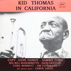 Thomas, Kid - In California CD Cover Art