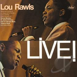 Rawls, Lou - Live CD Cover Art