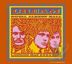 Cream - Cream: Royal Albert Hall CD Cover Art
