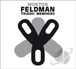 Fafchamps, Jean-Luc / Feldman, Morton - Morton Feldman: Triadic Memories CD Cover Art