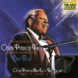 Oscar Peterson Trio / Peterson, Oscar - Saturday Night at the Blue Note CD Cover Art