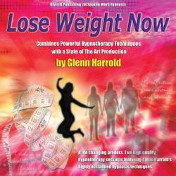 Harrold, Glenn - Lose Weight Now! CD Cover Art