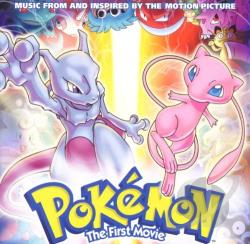 Pokemon: The First Movie CD Cover Art