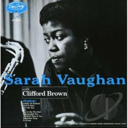 Brown, Clifford / Vaughan, Sarah - Sarah Vaughan with Clifford Brown CD Cover Art