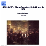 Jando / Schubert - Schubert: Piano Sonatas, Opp. 42 & 122 CD Cover Art