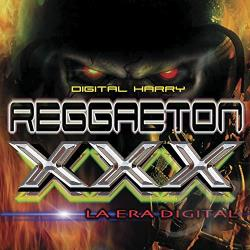 Instrumental Beats - Reggaeton XXX: Digital Harry CD Cover Art