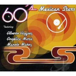 60's Mexican Stars Remixed CD Cover Art