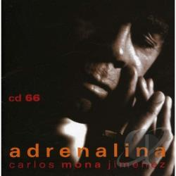 Mona Jimenez Carlitos - Adrenalina CD Cover Art