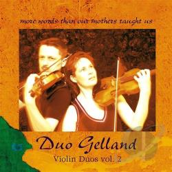 Duo Gelland - Violin Duos, Vol. 2 CD Cover Art