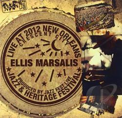 Marsalis, Ellis - Live at Jazzfest 2012 CD Cover Art