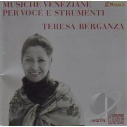 Berganza, Teresa - Sings 17th Century Italian Songs CD Cover Art