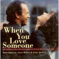 Baker, Anita - When You Love Someone CD Cover Art