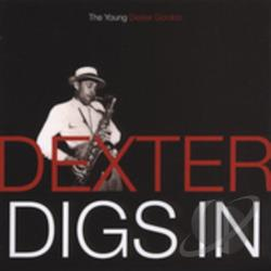 Gordon, Dexter - Dexter Digs In: The Young Dexter Gordon CD Cover Art