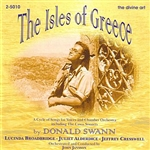 Alderdice / Broadbridge / Jansson / Swann - Isles of Greece (A Cycle of Songs for Voices & Chamber Orchestra) CD Cover Art