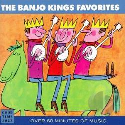 Banjo Kings - Favorites CD Cover Art