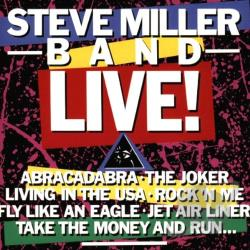 Miller, Steve Band - Steve Miller Band: Live! CD Cover Art