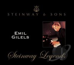 Gilels, Emil - Steinway Legends - Emil Gilels CD Cover Art