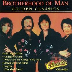 Brotherhood Of Man - Golden Classics CD Cover Art