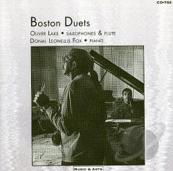 Lake, Oliver - Lake/Fox: Boston Duets CD Cover Art