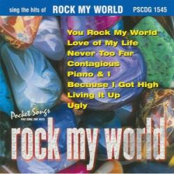Karaoke - Karaoke: Rock My World Male - Female CD Cover Art